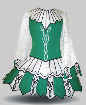 Image gallery irish dance dresses for Elevation dress designs