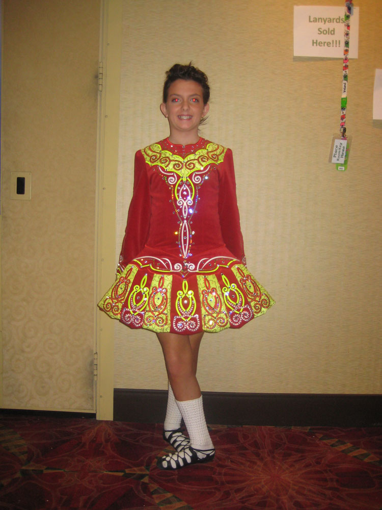Tess barret elevation design irish dancing dresses for Elevation dress designs