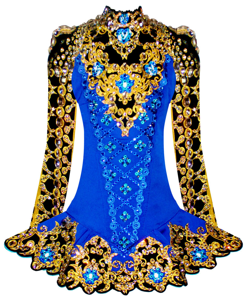 Cheap irish dance solo dresses