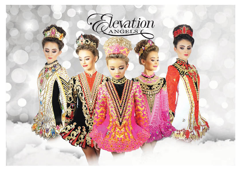 Irish dancing dresses by elevation design ireland for Elevation dress designs